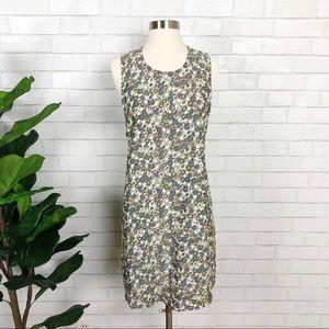 American Apparel Dakota Dress Brady Olive Sz L NEW